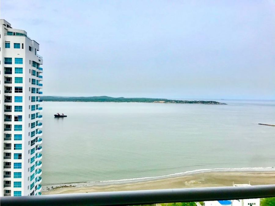 vendo apartamento en castillogrande con vista al mar