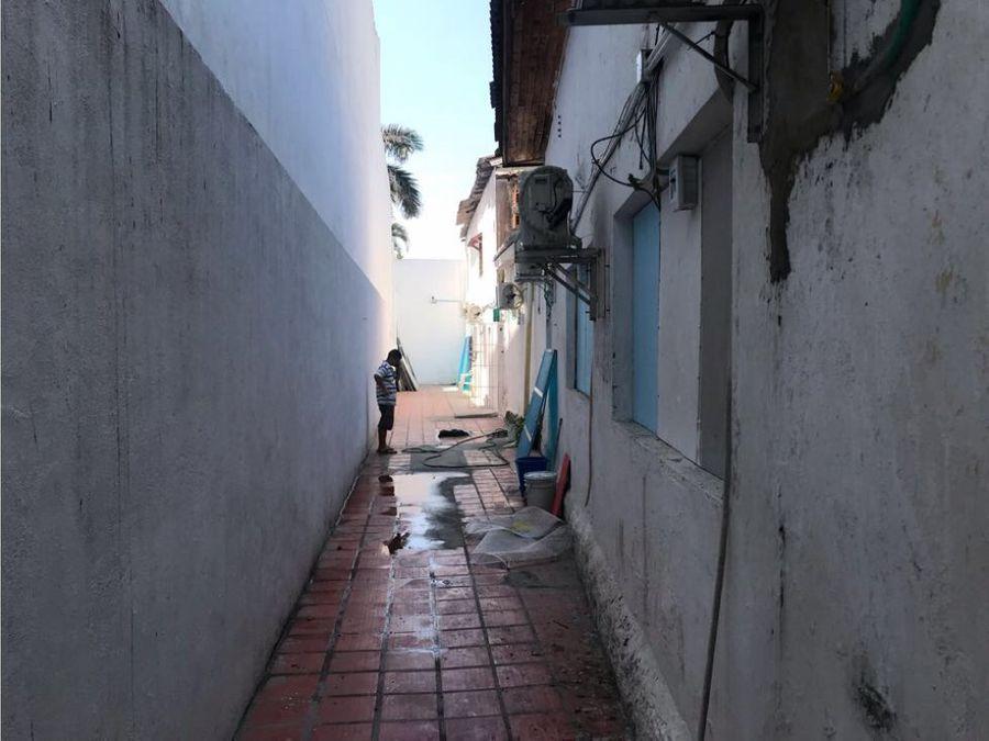 vendo casa lote en cartagena frente al mar