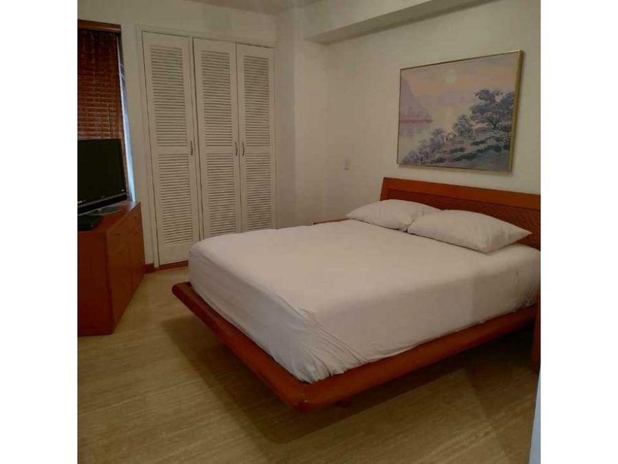 apartamento tipo estudio amoblado de lujo el rosal en alquiler