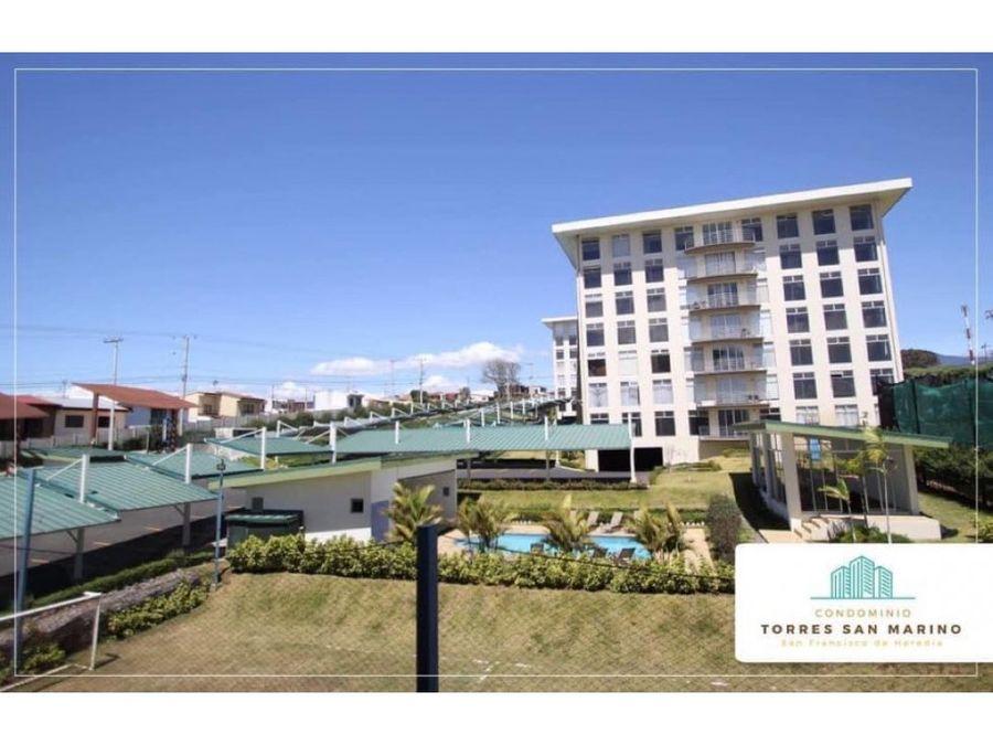 alquiler apartamento amueblado heredia barreal torres san marino