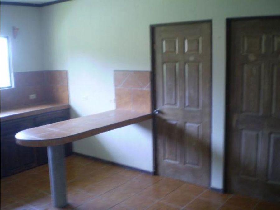 alquiler de apartamento heredia san isidro calle chaves