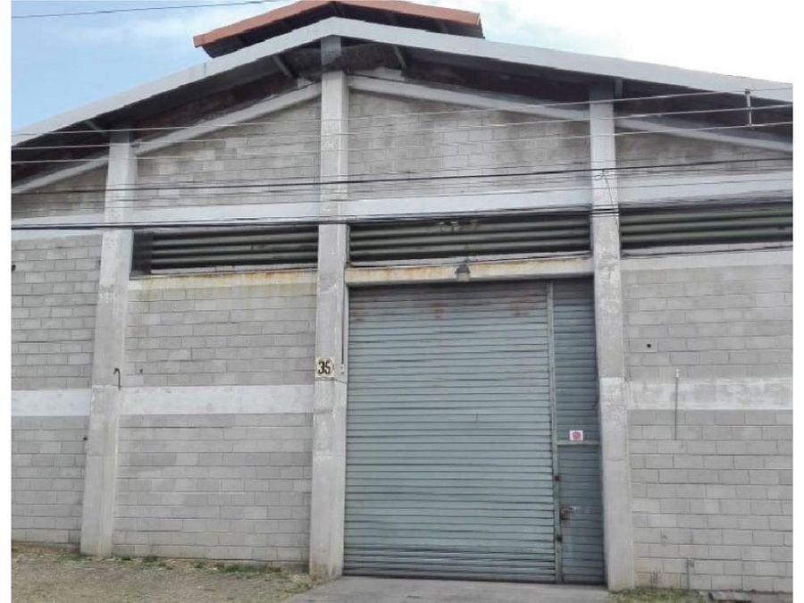 alquiler de bodega san jose pavas condominio industrial