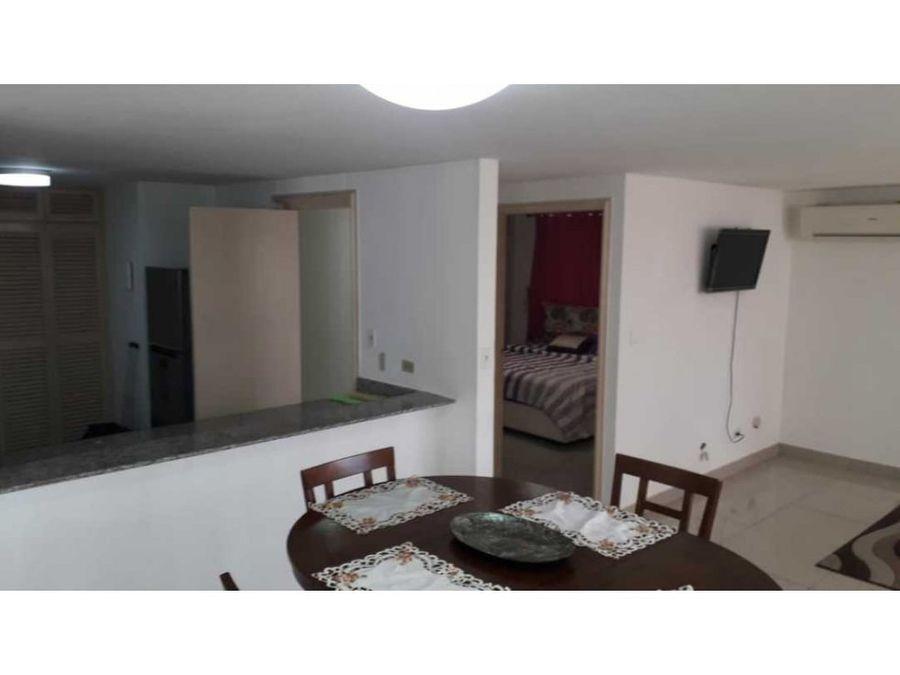 alquilo apartamento amoblado edificio alexander el cangrejo 1 recamar