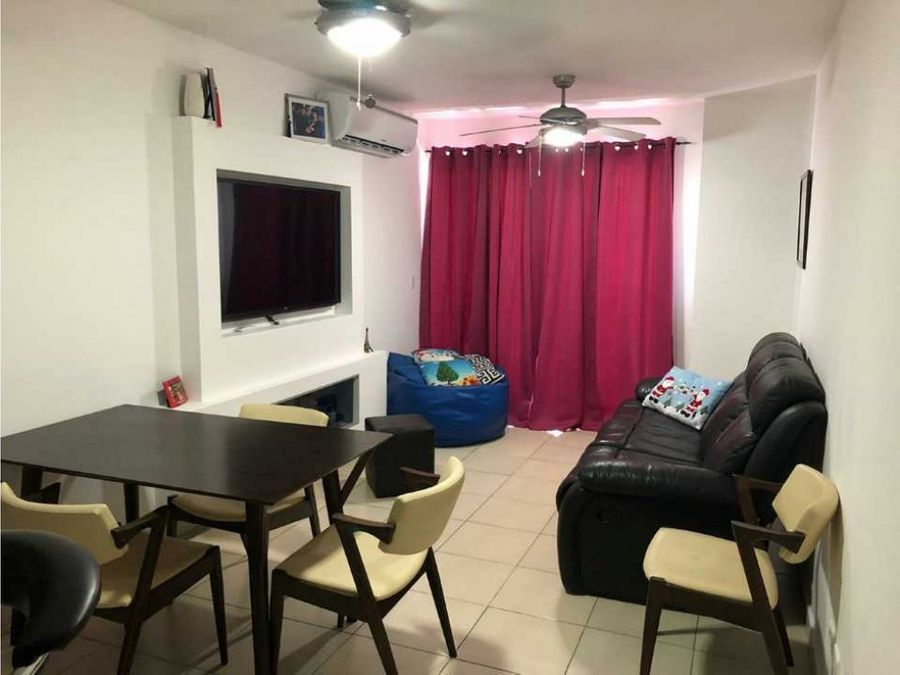 alquilo apartamento en chanis amoblado 700 ac
