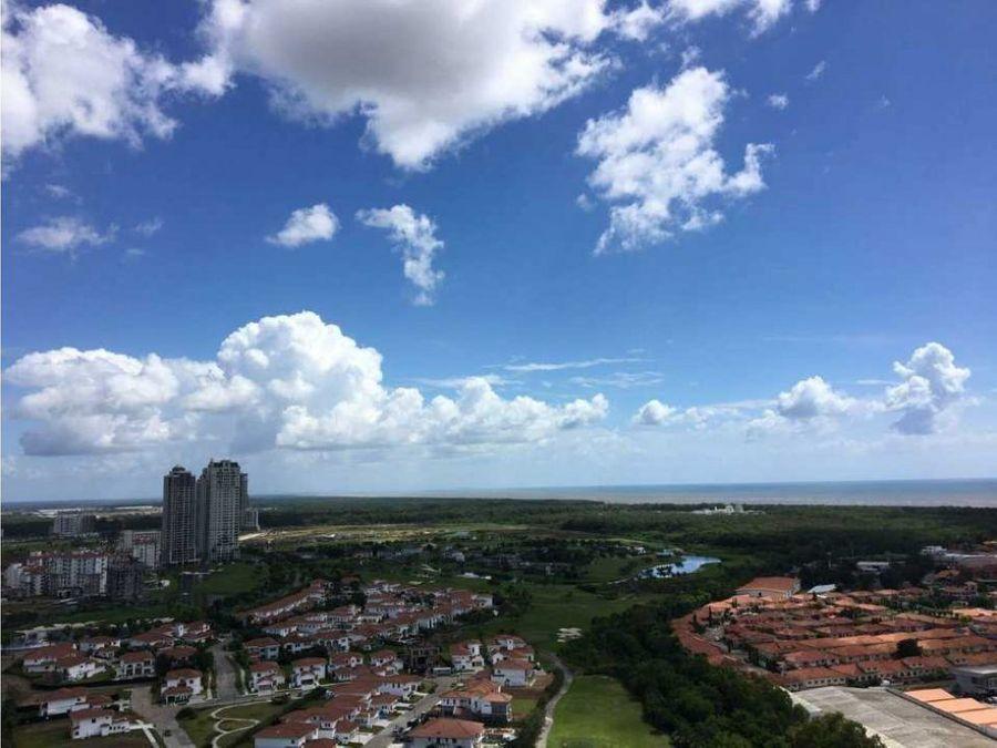 apartamento amoblado con vista al mar