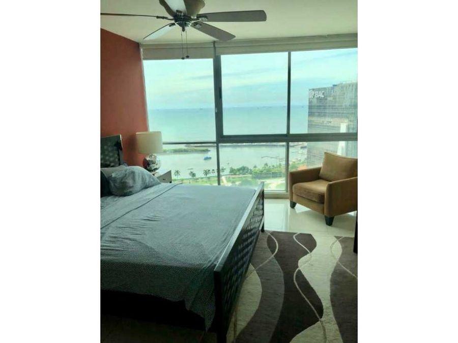 apartamento avenida balboa ph allure con vista al mar alquiler