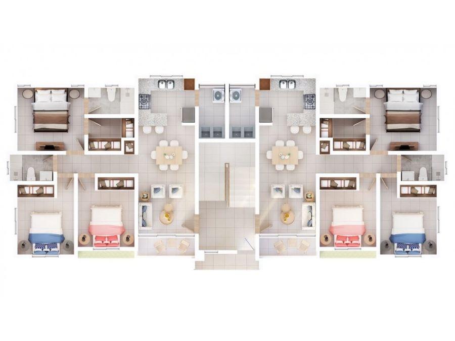 apartamento de venta en cuesta colorada