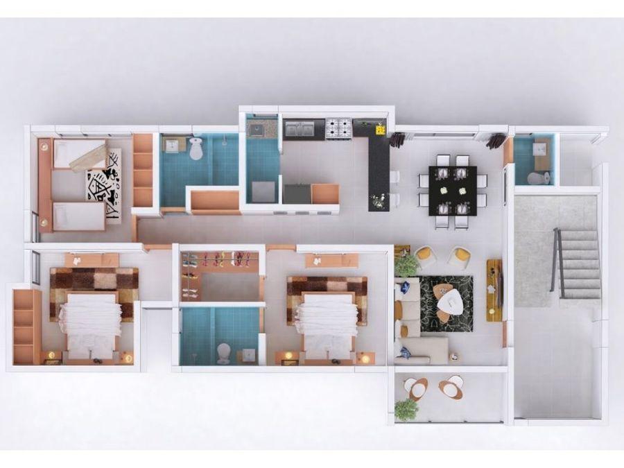 apartamento de venta en el dorado