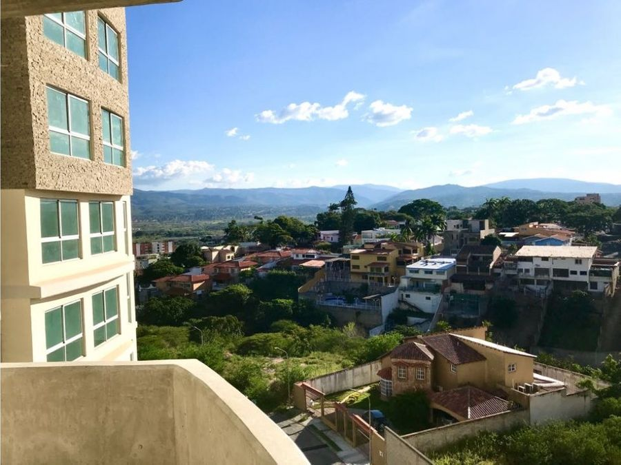 apartamento en terra tiuna con espectacular vista al valle