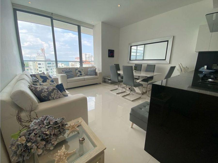 apartamento en venta two towers torre blue 2 alcobas