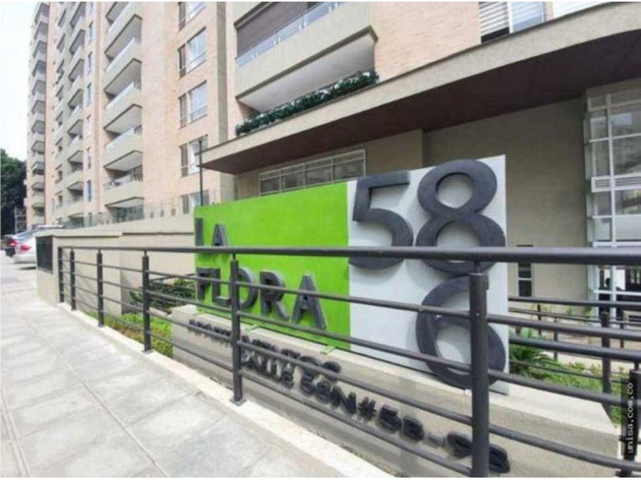 apartamento en venta edificio flora 58 6