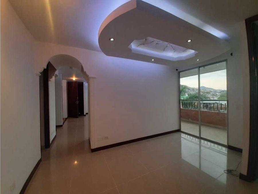 apartamento en alquiler opcion de venta en altos de guadalupe cali