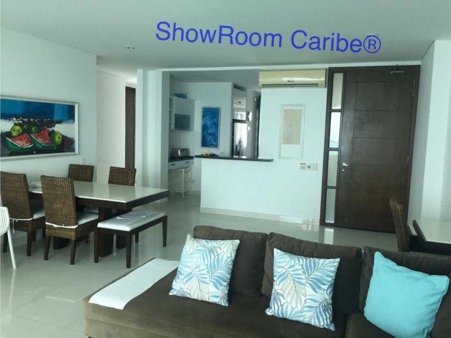 apartamento en venta frente al mar castillogrande