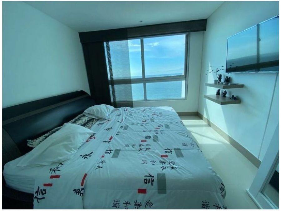 apartamento en venta frente al mar bocagrande