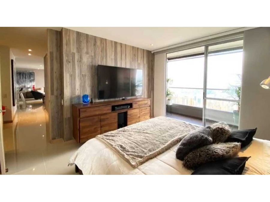 apartamento en venta poblado via linares medellin