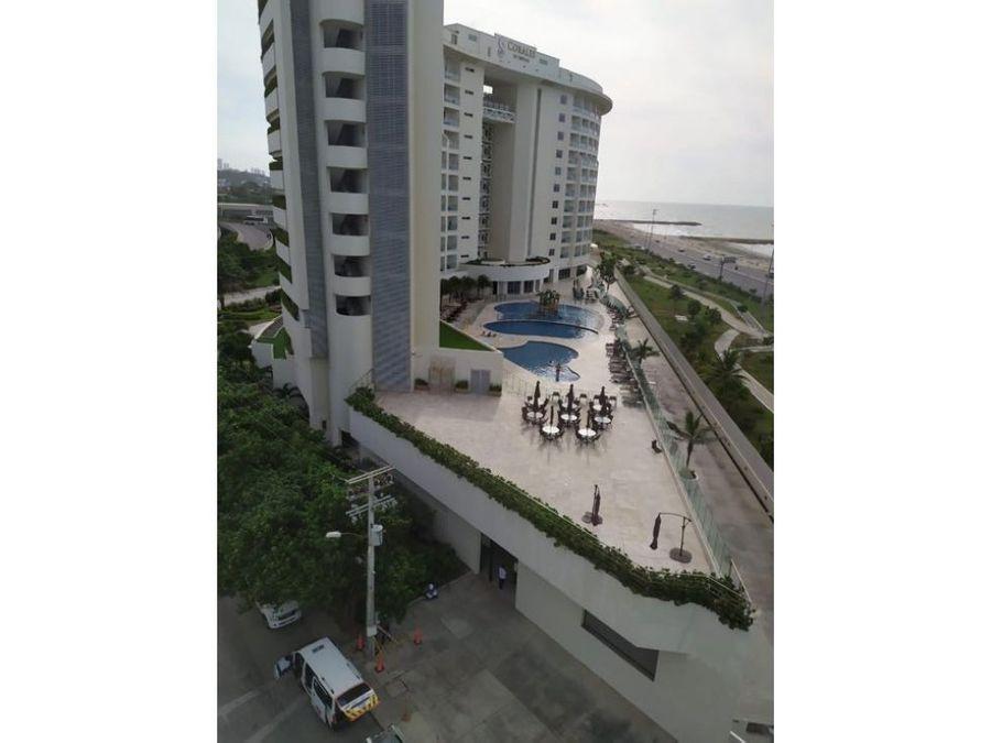 apartamento en crespo frente al mar