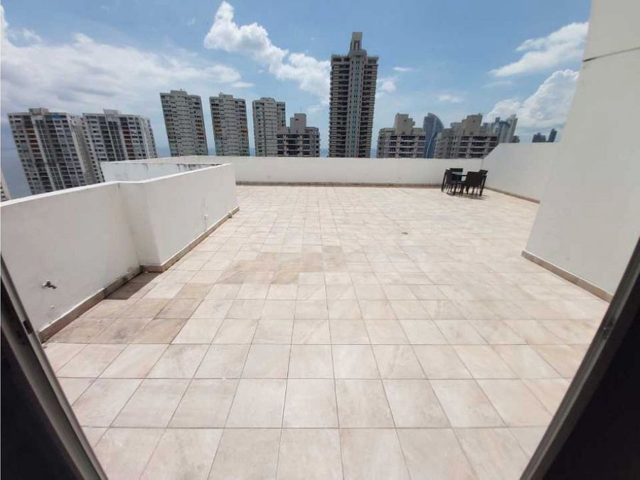 apartamento en ph waterview con terraza privada 230mt2
