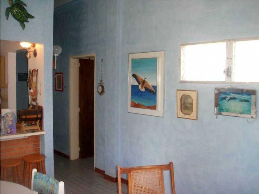 apartamento en rio chico con lindas areas comunes