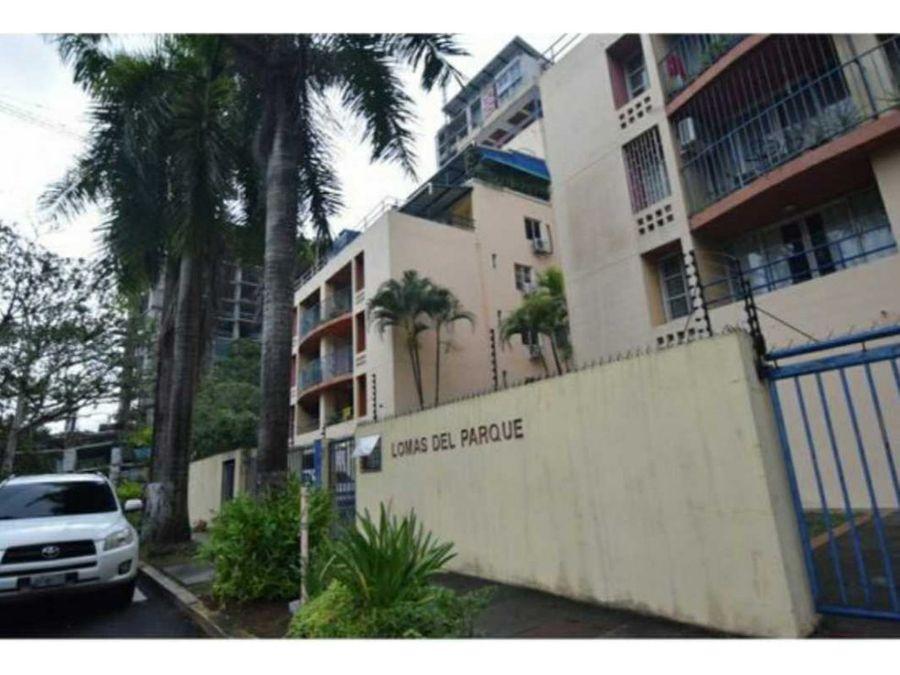 apartamento enorme terraza frente a parque omar venta mf