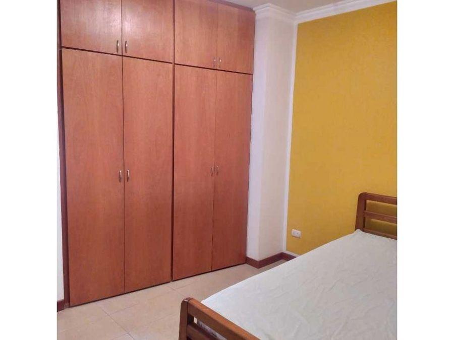 apartamento amoblado en alquiler en el rosal