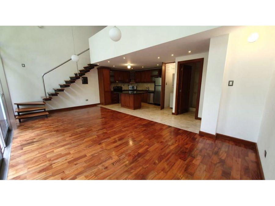 apartamento loft en renta zona 15