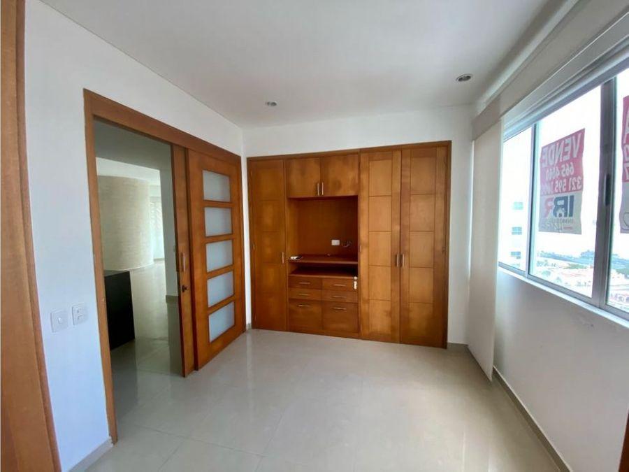 apartamento para la venta en bocagrande frente al mar