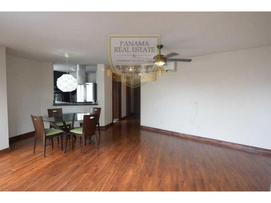 apartamento remodelado con linea blanca en obarrio lisa