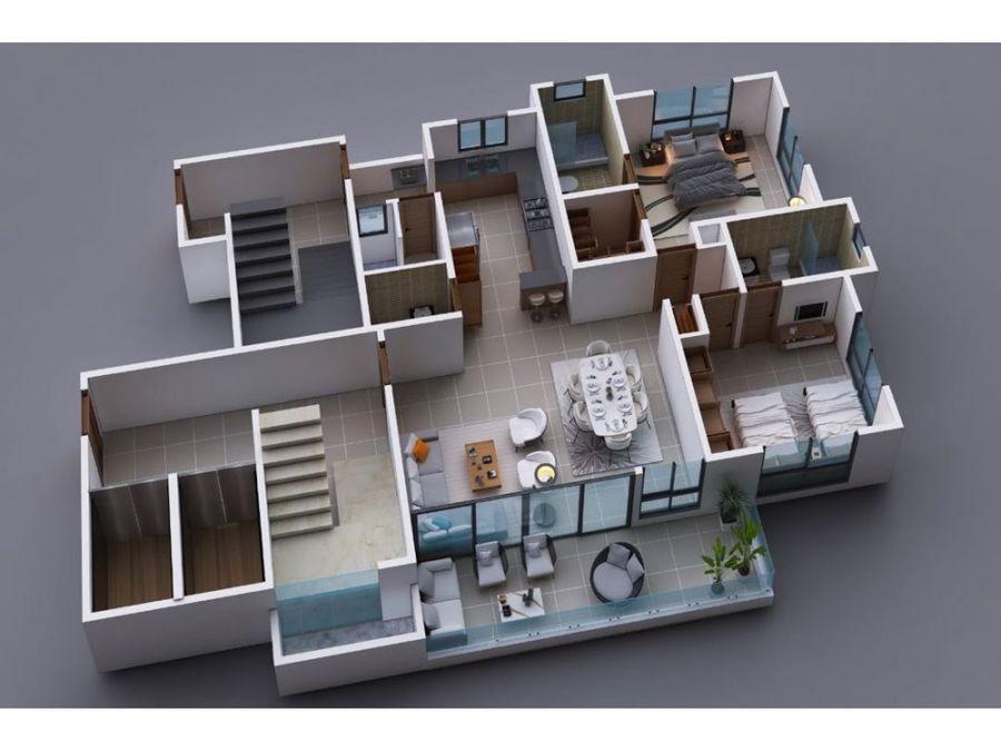 apartamentos a desarrollarse en la moraleja en santiago