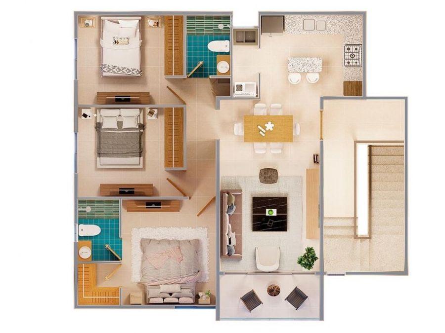apartamentos en plano para 2022
