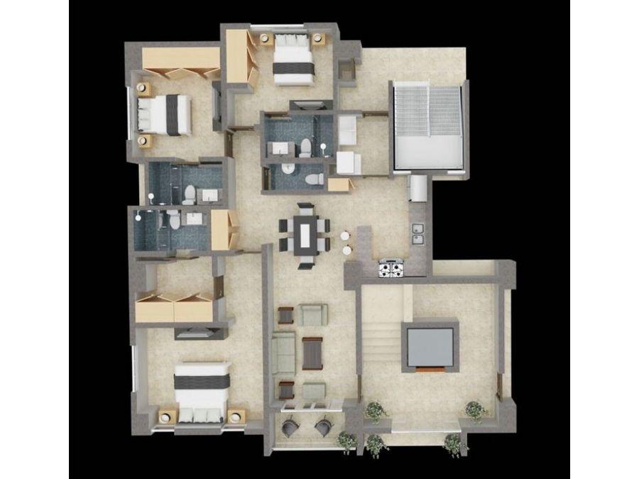 apartamentos de venta en las quintas de rincon largo