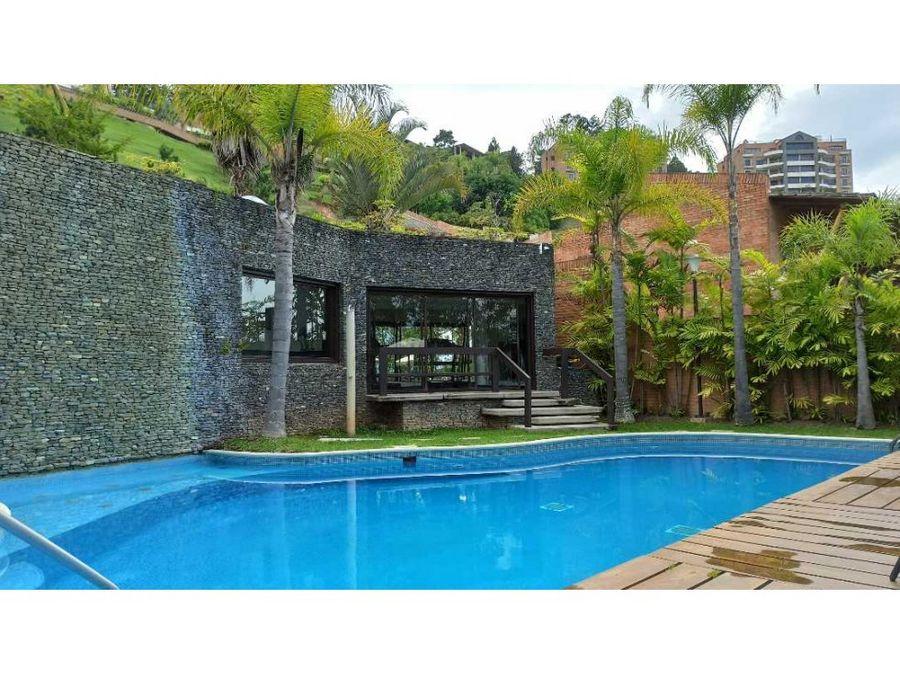 bella casa semiamoblada en alto hatillo la hatillana amplias terrazas