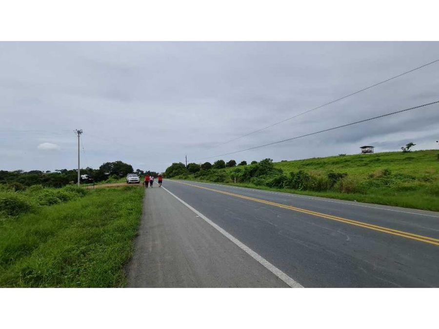 canton pedro carbo via manta guayaquil a la carretra 168m