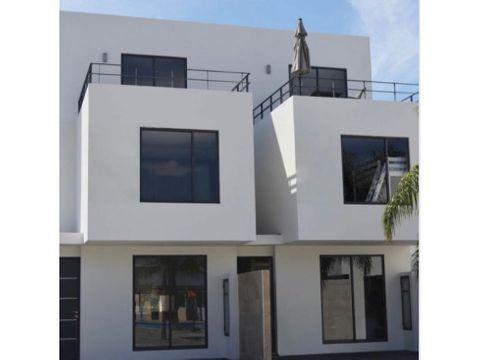casa moderna con alberca en santa fe morelos