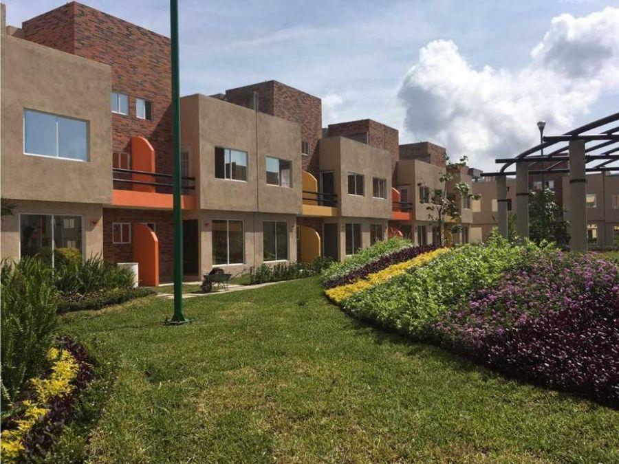 casa nueva en condominio acepto creditos e zapata