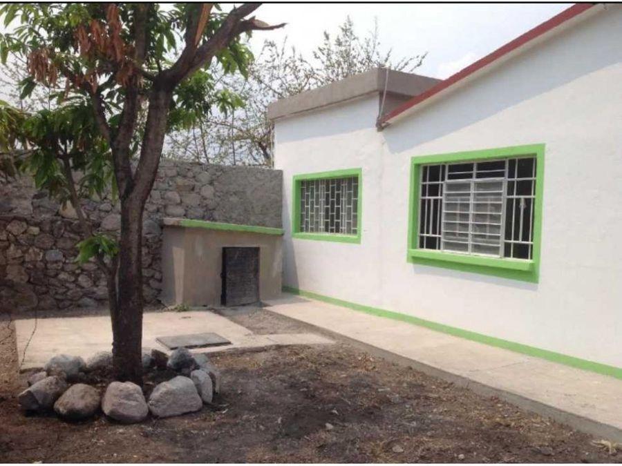 casa de campo en xochitepec