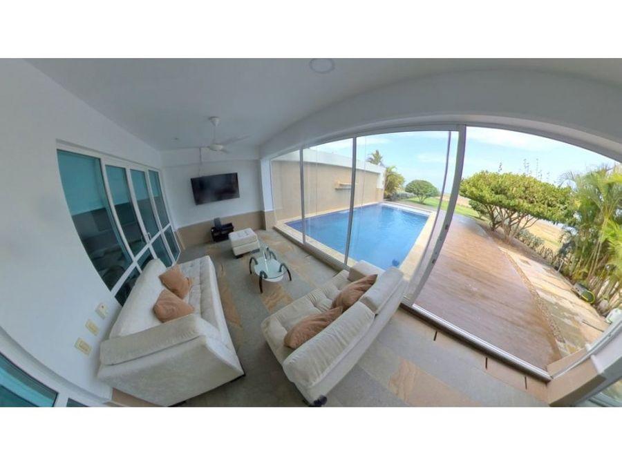 casa frente al mar playas con privacidad