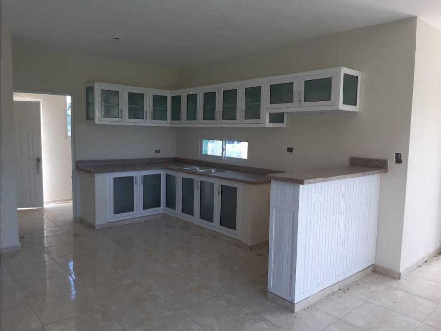 casa en venta en moca