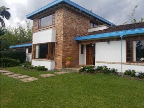 venta casa finca llanogrande amoblada