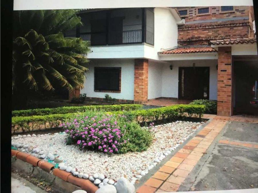 vendo casa en el sur de cali barrio pance unidad residencial payares