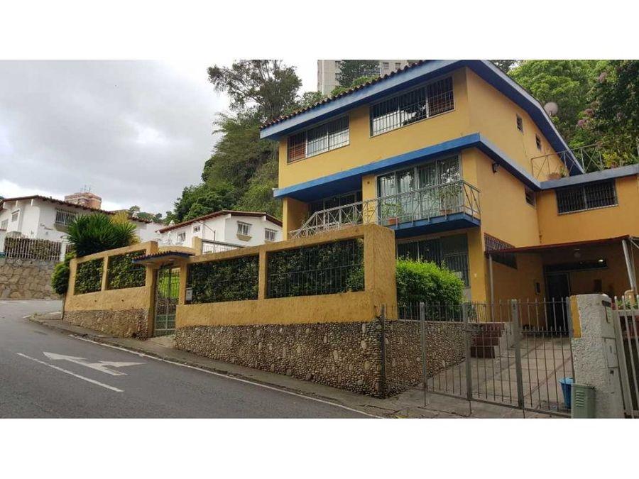 casa quinta en venta en colinas de bello monte