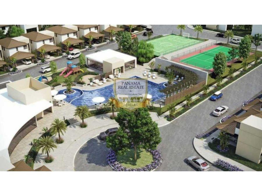 casas a estrenar costa verde proyecto riverview panama oeste