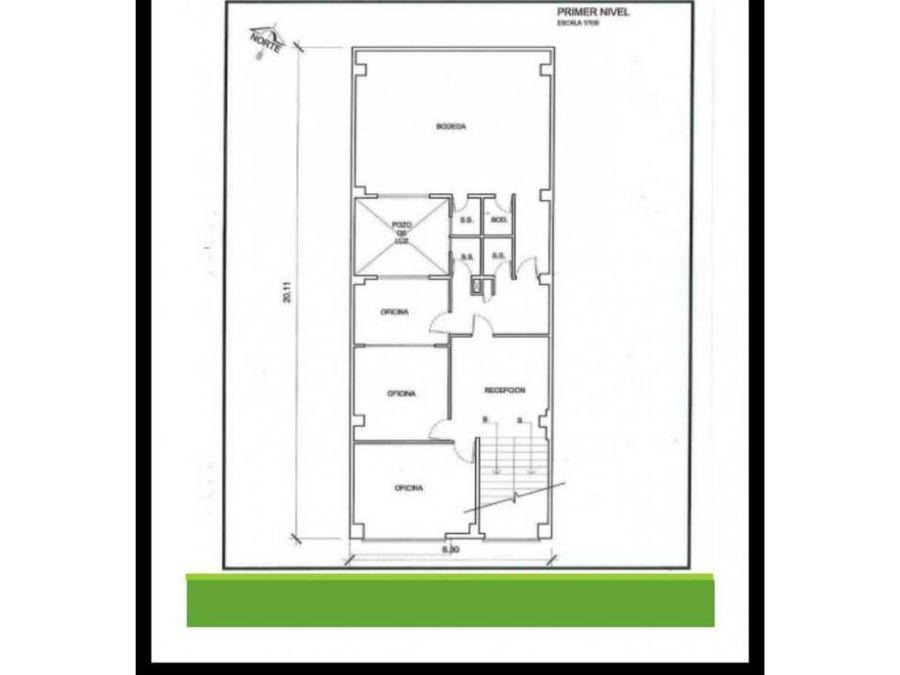 edificio en venta o alquiler zona 11