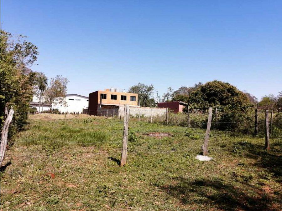 el terreno mas barato de la zona detras de rakiura zona poblada