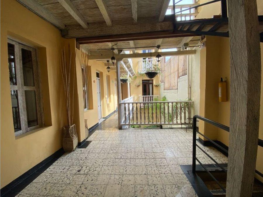 en venta hotel boutique en el centro historico