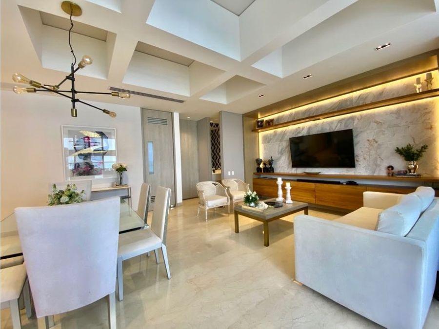 espectacular apartamento de 3 alcobas en bocagrande