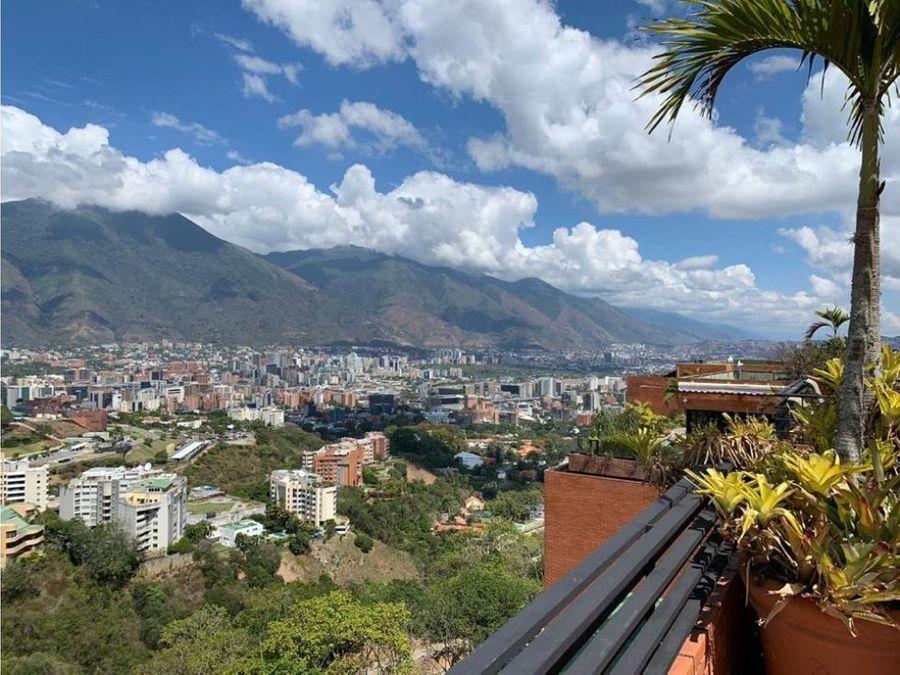 espectacular penthouse en colinas de valle arriba