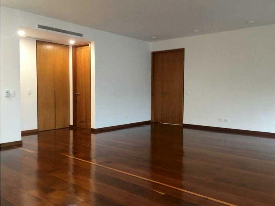 exclusivo apartamento en alquiler en campo alegre