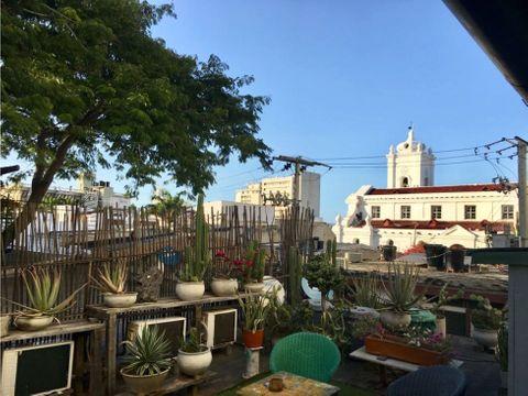 venta hotel centro historico santa marta