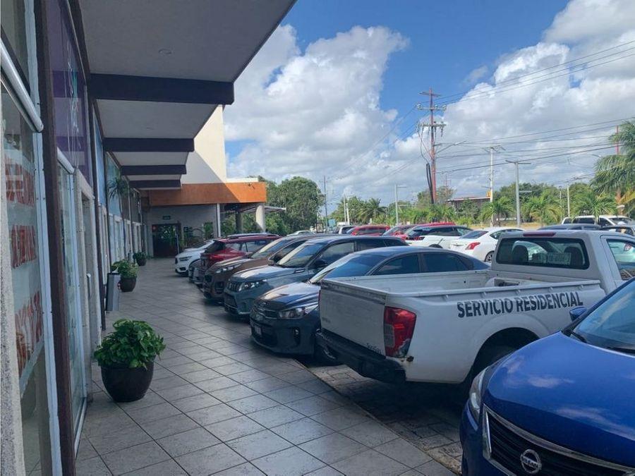 local en renta en cancun plaza nichupte 50 m2 21500 mxn