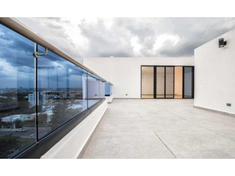 lujoso penthouse de venta en villa olga